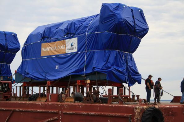 Engines Shipped to Marquette